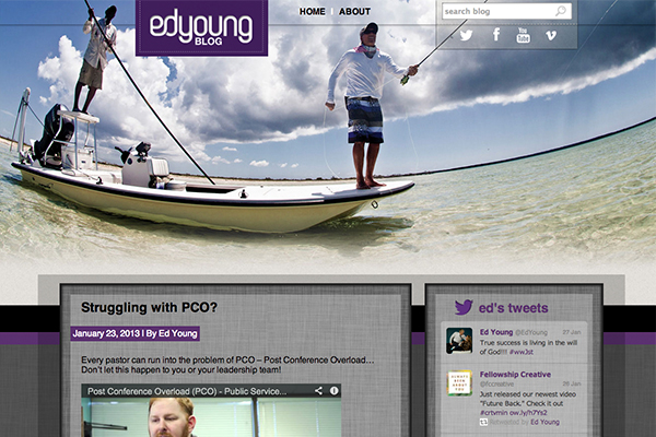 Ed Young Blog