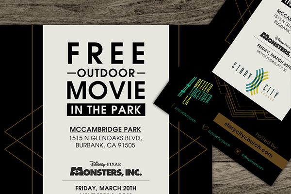 Free Movie Flyer